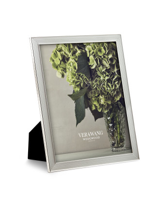 Vera Wang Wedgwood With Love Nouveau Silver Frame 8'x10'