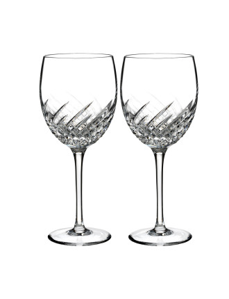 Essentially Waterford Wave Goblet Pair