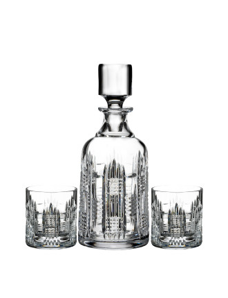 Waterford Dungarvan Decanter & DOF Tumbler Set