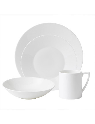 Jasper Conran at Wedgwood White 16 Piece Set