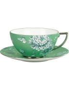 Jasper Conran At Wedgwood Chinoiserie Green Teacup & Saucer $175.00