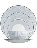 Jasper Conran At Wedgwood Pinstripe 5 Piece Place Setting $269.00