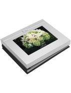 Vera Wang  Infinity Silver Photo Guest Book $99.95