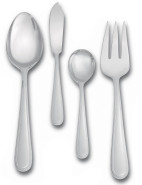Vera Wang Infinity Cutlery 4 Piece Hostess Set $79.95