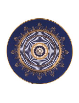 Anthemion Blue Entrée Plate