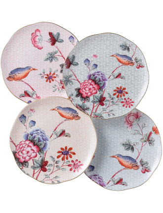 Cuckoo Set of 4 Plates 20cm
