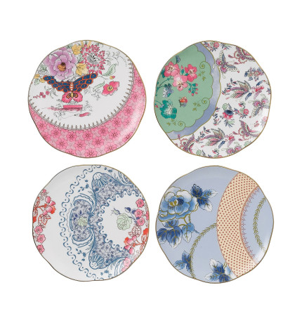 CONTENT  sc 1 st  David Jones & Butterfly Bloom Set of 4 Plates 20cm | David Jones