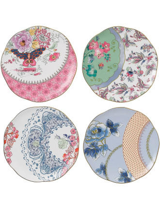 Butterfly Bloom Set of 4 Plates 20cm