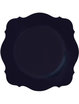 Jasper Conran Baroque Charger Blue