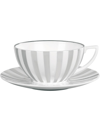 Jasper Conran Platinum Lined Teacup Striped