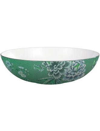 Jasper Conran Chinoiserie Green Open Server Dish