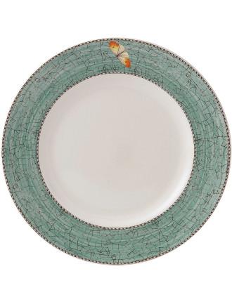 Sarah's Garden Plate 27cm Green