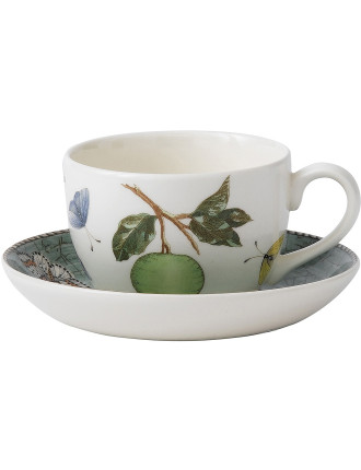 Sarah's Garden Tea Saucer Green