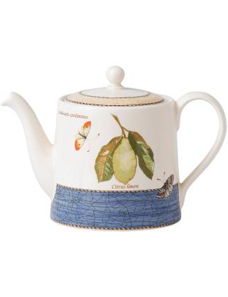 Sarah's Garden Teapot Blue 1.17ltr