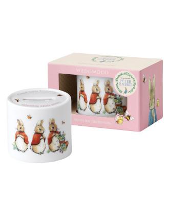 Peter Rabbit Classic Girls Money Box