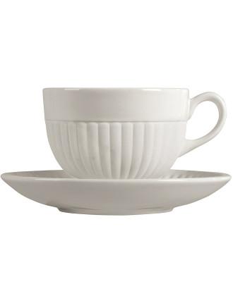 Edme White Tea Saucer