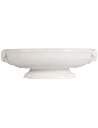 Edme White Low Centrepiece Bowl 38cm