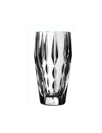 Vera Wang Peplum Crystal Vase 23cm