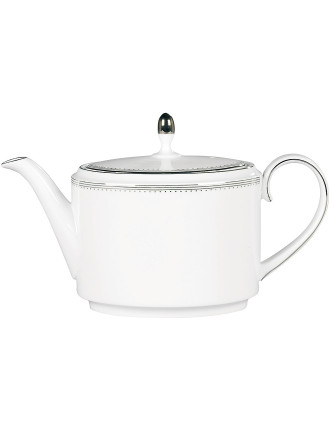 Vera Wang Wedgwood Lace Platinum Teapot 1.1Ltr