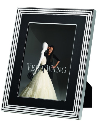 Vera Wang Wedgwood With Love Noir Frame 8'X10'