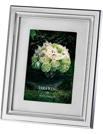 Vera Wang Wedgwood Chime Silver Frame 5'X7'