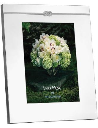 Vera Wang  Infinity Silver Frame 8X10'