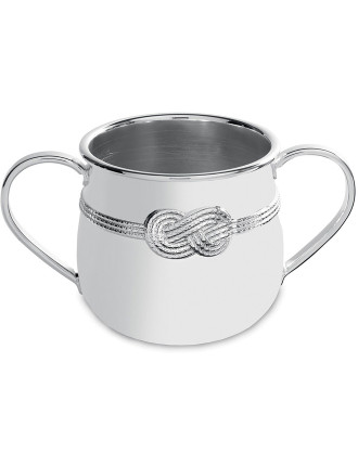 Vera Wang  Infinity Silver Baby Cup