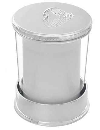 Vera Wang Lace Covered Candle