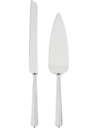 Monique Lhuillier Modern Love Cake Knife & Serve