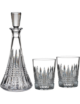 Lismore Diamond Decanter & Tumbler Set