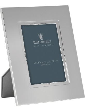 Lismore Bead Silver Frame 20x25cm