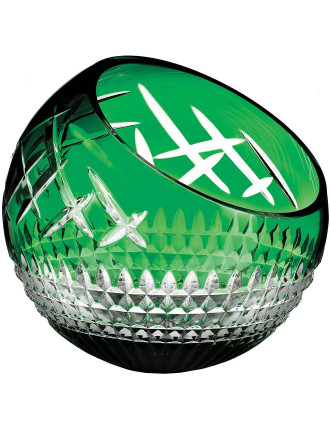 Fleurology Cleo Rose Bowl 30cm Cased Emerald