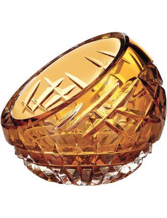 Fleurology Cleo Rose Bowl 10cm Amber