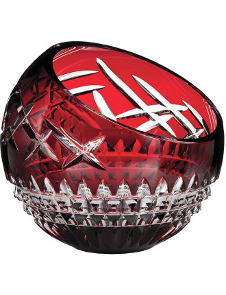 Fleurology Cleo Rose Bowl 20cm Cased Red