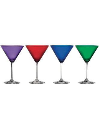Marquis Vintage Jewels Martini Set of 4