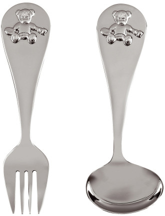 London Bear Spoon & Fork