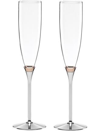 Rosy Flute Pair