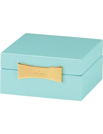 Garden Drive Jewellery Box Turquoise 10cm