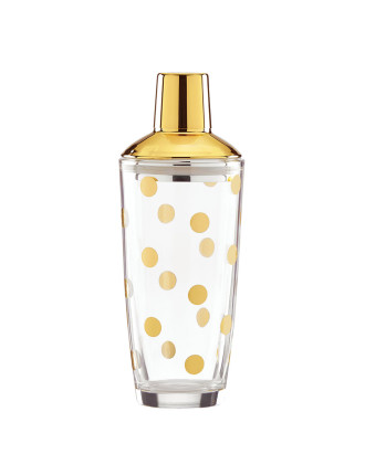 kate spade new york Two of a Kind Shaker Gold Dot 23cm
