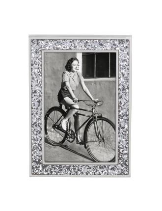Simply Sparkling Frame 5x7 Silver