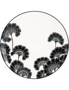 new york Japanese Floral Plate 23cm Accent $29.00