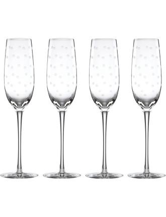 Larabee Dot Flutes (Set of 4)
