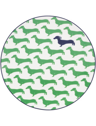 Wickford Accent Plate 23cm - Dachshund