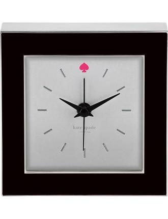 Cross Pointe Clock Black