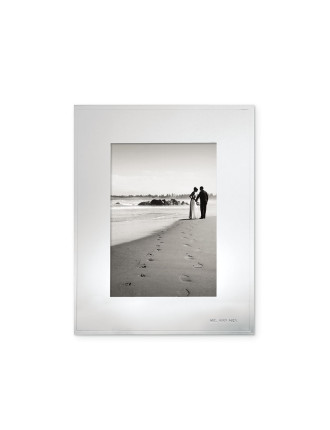 Darling Point Frame 13x18cm - Mr & Mrs