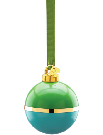 Be Merry, Be Bright' Green & Turquoise Ornament