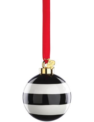 'Deck the Halls' Stripes Ornament