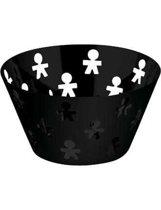Girotondo Fruit Bowl Black