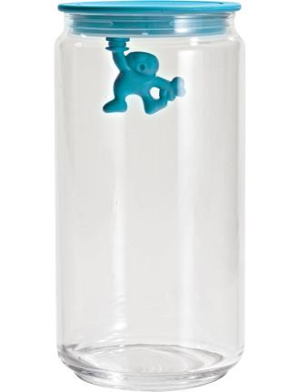 Gianni Glass Box 6blue Lid