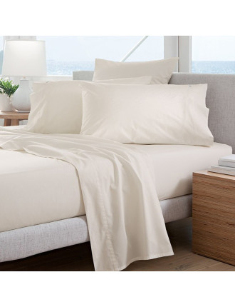 Classic Percale 300Tc King Single Sheet Set